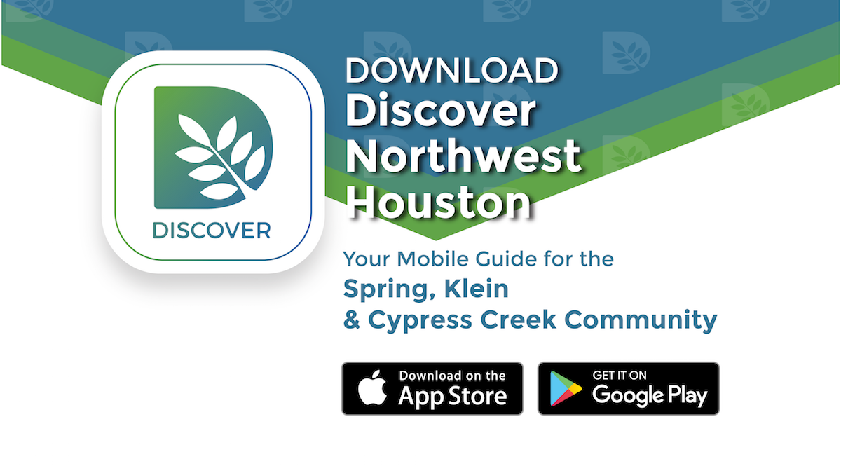 Discover Northwest Houston App Promotional Graphics