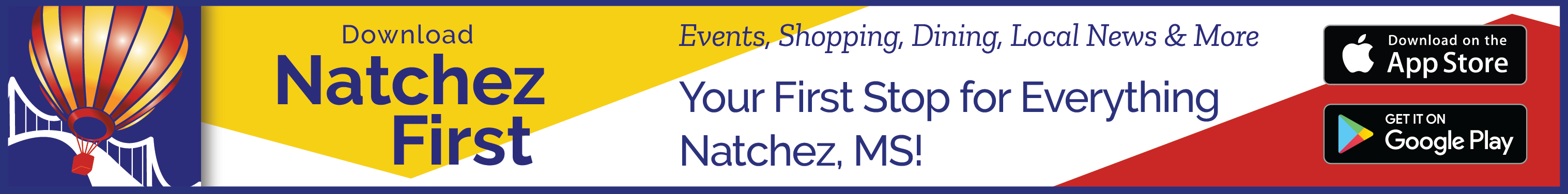 Download the Natchez First app